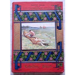 Les chasseurs de girafes, Cartonnage collection Hetzel  par A. Cartier, A. SOUZE .