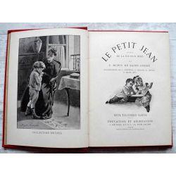 Le Petit Jean, scènes de la vie d'un bébé, par F. Dupin de Saint-André, Cartonnage  par A. Cartier .