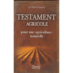 Testament agricole - pour une agriculture naturelle Sir Howard Albert