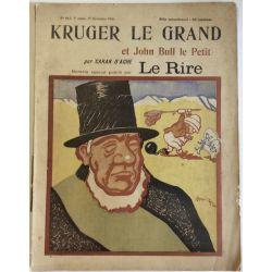 Revue le rire numero special Kruger le Grand, Caran d'Ache