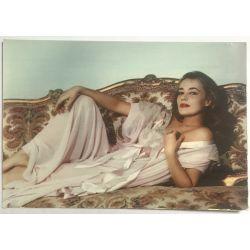 CPA vintage postcard, Jeanne Moreau.