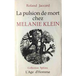 La pulsion de mort chez Melanie Klein, Jaccard.