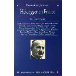 Janicaud, Heidegger en France, 2 vols.