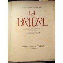 La Brière, sur Japon, CHATEAUBRIANT (Alphonse de), illustré par Jean-Pierre REMON, 1959