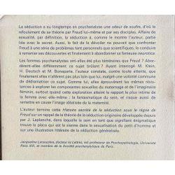 Histoire secrète de la séduction sous Freud, Lanouzière.