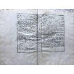 1690 EXAGONE FORTIFIE, carte-ancienne-antiquarian-map-landkarte-kupferstich-n-de-fer