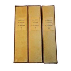 Rabelais Gargantua - Pantagruel. Lemarie, illustre moderne, bibliophilie