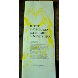 1974 Leo Ferré , Il est six heures ici et midi à New York