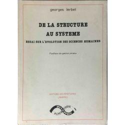 Lerbet, De la structure au système.