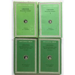 Libanius, in 4 vol. / Loeb Classical Library