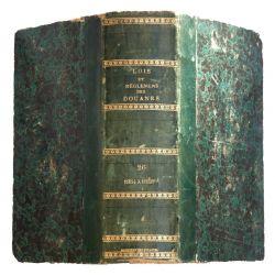 Lois et reglements des douanes anees 1854-1855