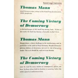 Thomas Mann, The Coming Victory of Democracy.