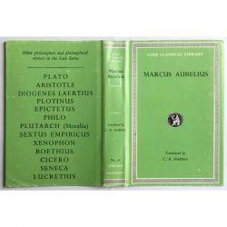Marcus Aurelius, Meditations / Loeb Classical Library