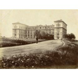 Marseille, vintage albumen print, old photo, tirage argentique albuminé,1880/90, N.D.Phot.,Neurdein,chateau de Pharo .