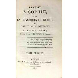 1810 Martin, Lettres à Sophie, 2 vols.