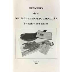 Belpech, Mémoires de la Société d'Histoire du Garnaguès.