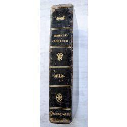 LA17 Missale romanum 1682 creto sacrosancti papae Octavi