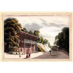 Gravure TRANQUILLO MOLLO Kupferstich, 1815, Osterreich, Austria, Autriche, Schweizerhaus Baden-Wien, Vienne