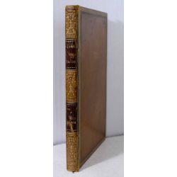 1853 MUNCH, ANDREAS, Sorg og Trost. Nogle Digte. Belle reliure. LA19.