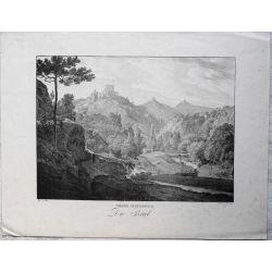 1826 NIEDER OESTERREICH / Autriche, Die Briel. Lithographie-lithography.