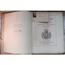LA19 60 planches d'orfèvrerie de la Collection de Paul Eudel, + lettre manuscrite, pour faire suite aux Eléments d'orfèvrerie composés par Pierre Germain.