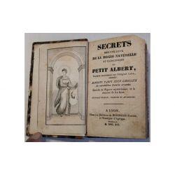 SECRETS DE LA MAGIE NATURELLE ESOTERISME CABALISTIQUE DU PETIT ALBERT 1791