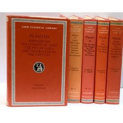 Plautus, In 5 volumes / Loeb Classical Library