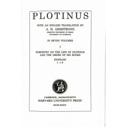 Plotinus, Enneads, in 7 vol. / Loeb Classical Library
