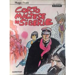 Corto Maltese en Siberie, Hugo Pratt , d.l. 4 tr. 1980