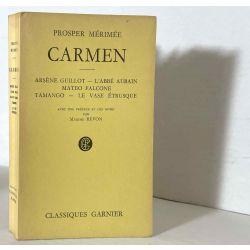 Mérimée, Carmen et 5 autres, Classiques Garniers.