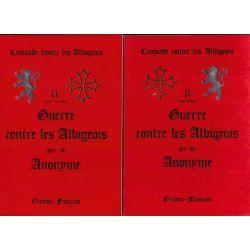 Chronique de Guillaume de Puylaurens 3 vol.