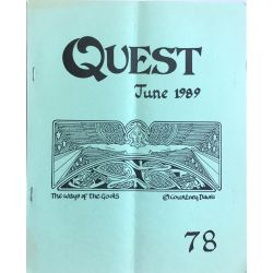16 issues of Quest, A quaterly magazine of Witchcraft, Green.