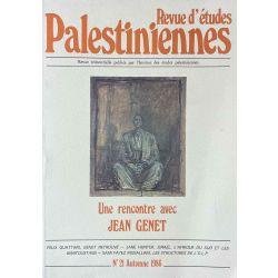 Revue d'études Palestiniennes, No 21/1986. Jean Genet.