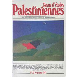 Revue d'études Palestiniennes, No 23/1987.