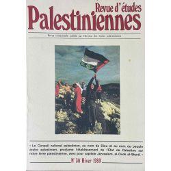 Revue d'études Palestiniennes, No 30/1989.