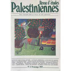 Revue d'études Palestiniennes, No 31/1989.
