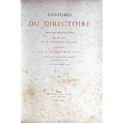Sardou, Costumes du Directoire, 1874.