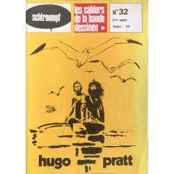 Les cahiers de la bande dessinée, Special Hugo Pratt N. 32