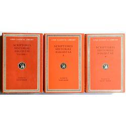 Scriptores Historiae Augustae, 3 vol. / Loeb Classical Library