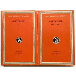 Suetonius, Lives of Caesars, 2 vol. / Loeb Classical Library