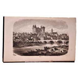 Voyage aux eaux des Pyrénées. edition originale bibliophilie