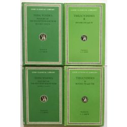 Thucydides, Peloponnesian War, in 4 vol. / Loeb Classical Library