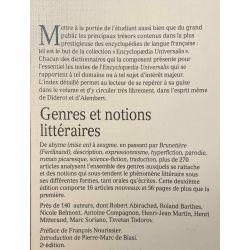 Dictionnaire des Genres et Notions littéraires.