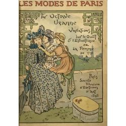 Les Modes de Paris, Illustrations François Courboin, Uzanne, LA19.