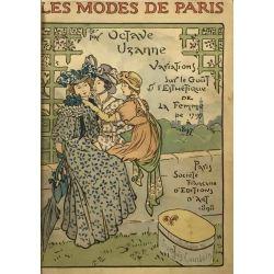 Les Modes de Paris, Illustrations François Courboin, Uzanne, LA19.