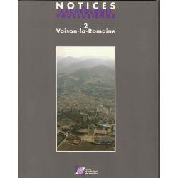 Recherches archéologiques récentes à Vaison-la-Romaine et aux environs