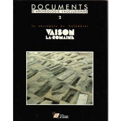 Nécropole du Colombier,Vaison la Romaine, Documents d'archéologie vauclusienne