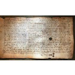 LA16 VELLUM PARCHEMIN MANUSCRIT MANISCRIPT 15th or 16th century 15/16ieme siecle