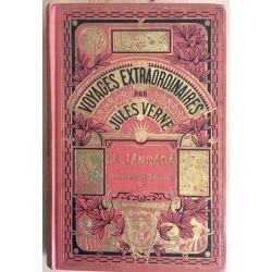 Jules Verne, La Jangada, 800 lieues sur l'Amazone, Collection Hetzel.