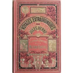 Jules Verne, L'étonnante aventure de la Mission Barsac, Collection Hetzel.